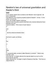 Newton and Kepler laws.pdf