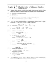 Homework B Solutions on Principles of Chemistry