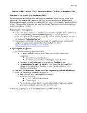 American_History_in_Video_Research_Project_Part_II_Instructions.docx