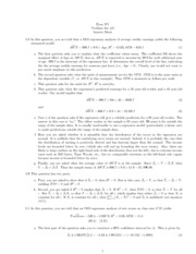 econ 122a problem set 6 The impact berkeley faculty have had on various fields of economics has been enormous our department is currently at the forefront of many exciting new developments in economics.