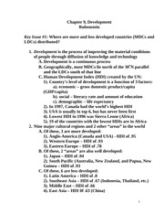 ap human geography outline chapter 9 Ap human geography: rubenstein text  transcript of ap human geography: development (ch 9)  outline strategies for achieving objectives.