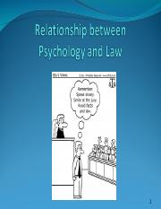 1RelationshipBetweenPsychologyandLawS-2