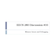 EECS 280 Discussion.week10