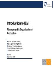 160922_01_HBL_Module 2 - Management and Organization of Production