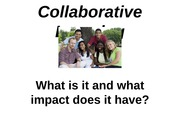 ISQS 3344 Focus Groups - Collaborative Learning
