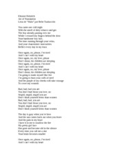 malo por bebe lyrics translation