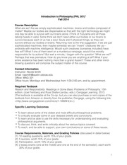 Syllabus INTRO PHL 301 updated