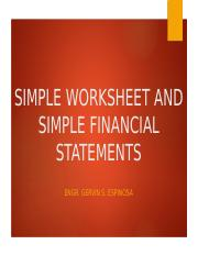 SIMPLE-WORKSHEET-AND-SIMPLE-FINANCIAL-STATEMENTS.pptx