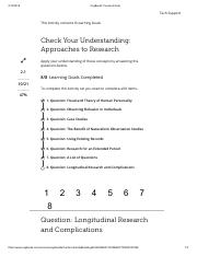 023. Question - Longitudinal Research and Complications.pdf