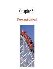 05 - Chapter 5 - Force and Motion 1.pdf