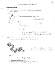 HW 03 Solutions