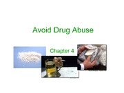 Psychoactive Drugs  Summer 2013 Notes