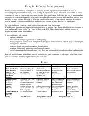 english 1a observation essay