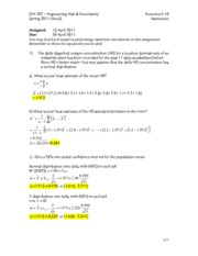 CEE 202 Homework 10 Solution