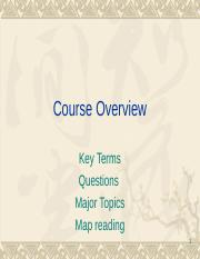 Course Overview 1.ppt