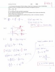 Study Guide Differential Equations Exam 1