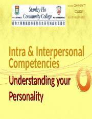 Understanding your Personality_SOUL.ppt