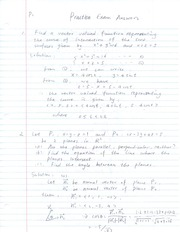 Practice Midterm 1 Solutions