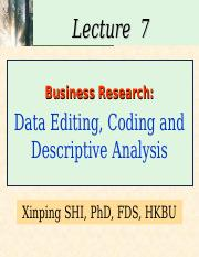 data coding and editing in business research Codescreen for off-site assessment send coding challenges to developers to  complete at their convenience and zero in on top performers get data sheet.