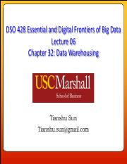 DSO428 Lecture 06 - Data Warehousing.pdf
