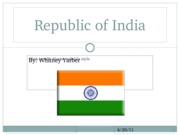 India--Whitney Yarber