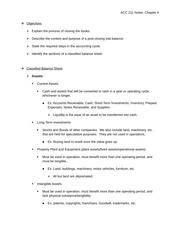 ACC 211-01 Notes - Chapter 4