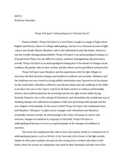 things fall apart essay hsp iii professor schachter things fall  this is the end of the preview sign up to access the rest of the document