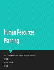 Human Resources Planning_Team A.pptx