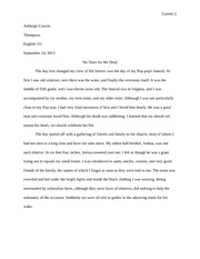 final draft narrative essay