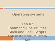 Lab-02 - Shell Scripting Cont.