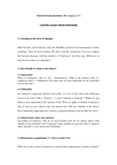 Analects_Tutorial Focus Questions_2014spring