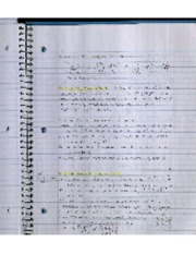 Lecture 1-30 Notes