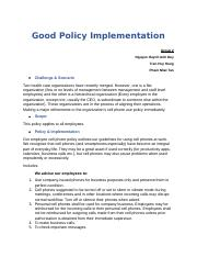 Good Policy Implementation.docx