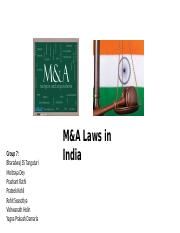 Group 7 - M_A Laws in India V2.pptx