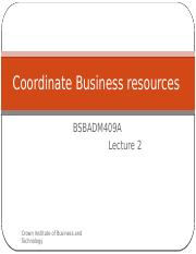 Coordinate Business resources lecture 2.pptx