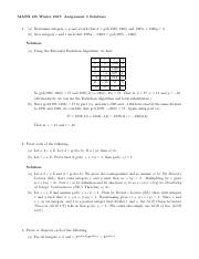 MATH135W17Assignment05Solutions