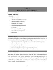 Unit 1-Purchasing Managment all.doc