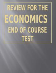 Economics EOCT Review_4