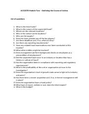 Module Two- List of questions.docx