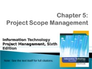 ch05-Project Scope Mgt