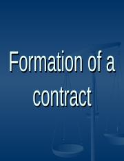 Topic 5 - formation of a contract.ppt