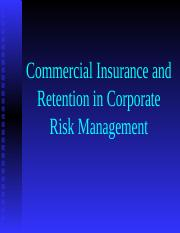 320W-15_Commercial_Insurance___Retention.ppt