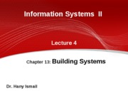 4-IS II GUC 2009 2010 spring- lecture 4
