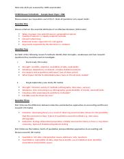 C39RE Research Methods sample exam and SOLUTIONS (1)
