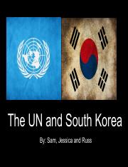 UN and South Korea