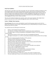 Final Exam Study Guide GEOG 332