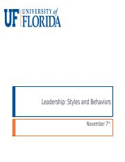 17-Leadership- Styles and Behaviors - student.pptx