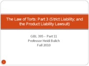 GBL_395_-__SC__The_Law_of_Torts___Part_3