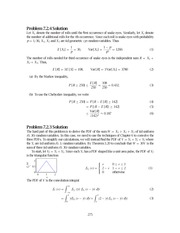 Problem Solutions,2nd Edition (STAT) 275