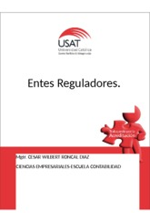 Entes Reguladores